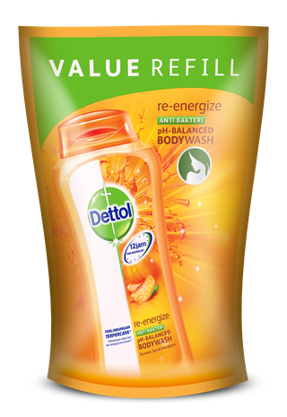 Sabun Cair Anti Bakteri Dettol Re-Energize (450ml)