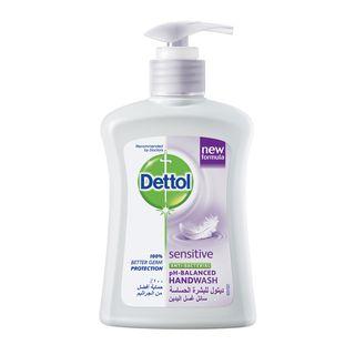 صابون سائل ديتول غسول اليدين للبشرة الحساسة 200 مل.