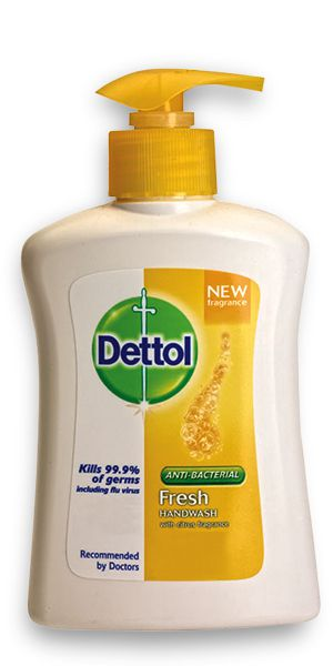Dettol Antibacterial Fresh Liquid Handwash 200ml