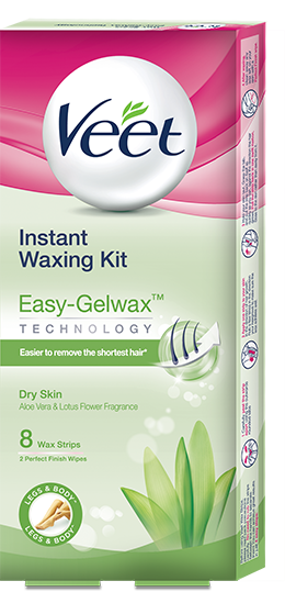 Instant Waxing Kit - Dry Skin