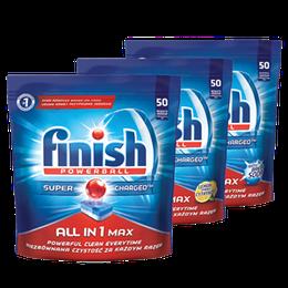 Finish All in 1 Max tablety do myčky nádobí
