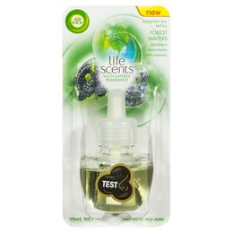 AIR WICK LIFE SCENTS SCENTED OIL PLUG IN REFILL FOREST WATERS