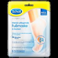 Scholl Expert Care intensiv pflegende Fußmaske in Socken