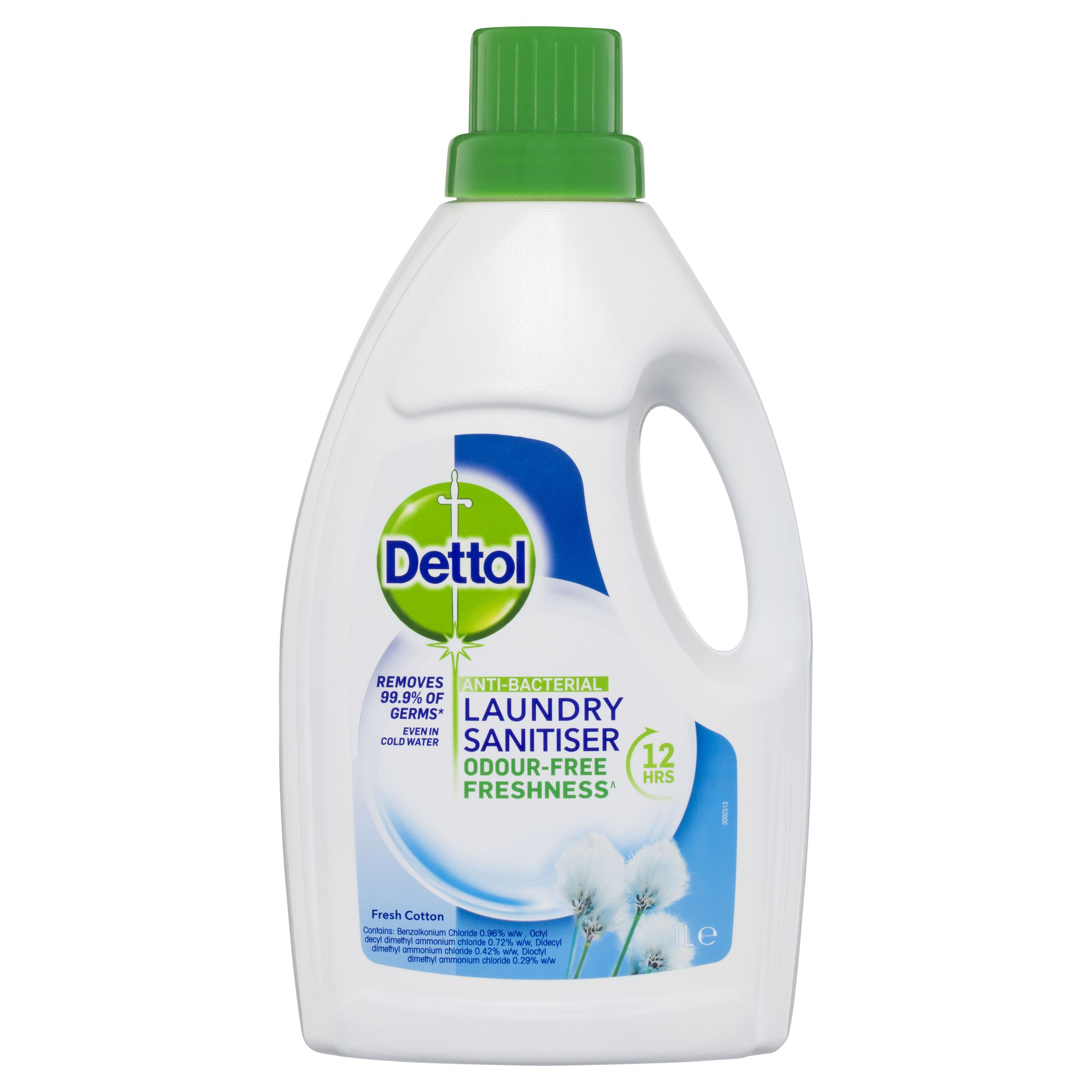 Dettol Anti-bacterial Laundry Sanitiser 1L