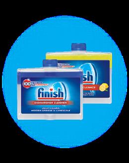 Finish mosogatógép tisztító folyadék