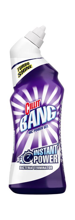 Cillit Bang Power Cleaner Snavs & Toilet med blegemiddel*