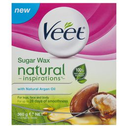 Veet® Natural Inspirations Warm Wax with Argan Oil 360g