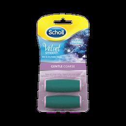 Scholl Velvet Smooth Refills med havmineraler - Gentle Coarse 2 stk.