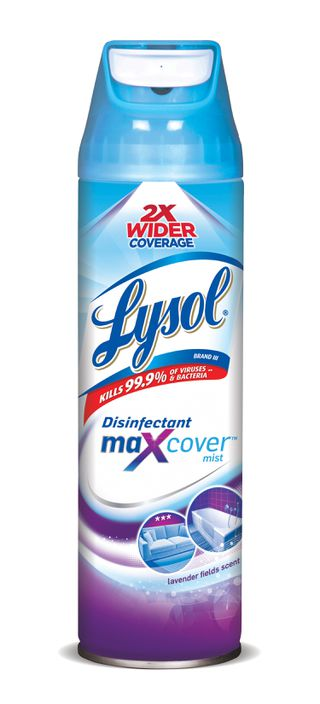 Lysol Max Cover Disinfectant Mist - Lavender Fields Scent