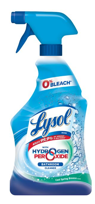 Lysol Hydrogen Peroxide Bathroom Cleaner