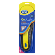 Scholl GelActiv Insoles Work Women