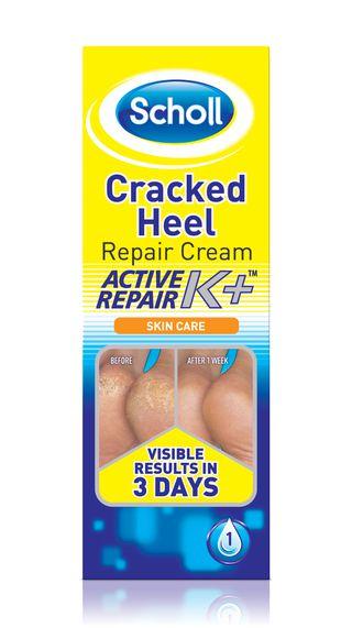 Scholl Krem na pękającą skórę pięt Active Repair K+