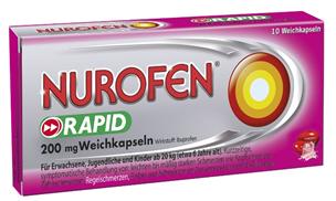 NUROFEN 200 mg Weichkapseln