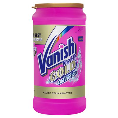 Vanish Gold Oxi Action Powder Stain Remover Vanish Au
