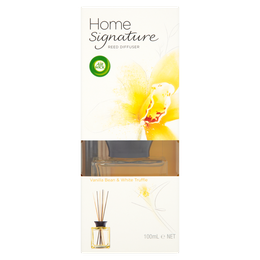 Air Wick Home Signature Reed Diffuser Vanilla Bean & White Truffle