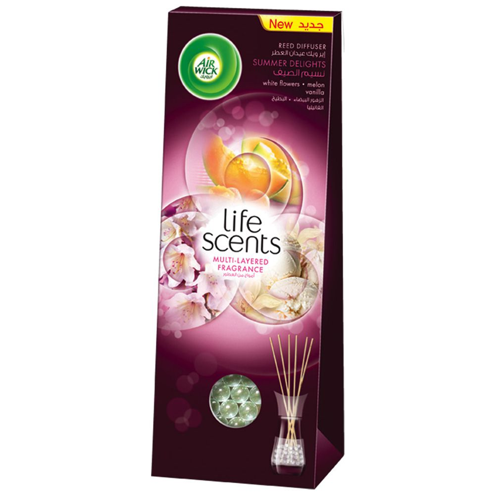 Life Scents™ Summer Delights Reed Diffuser | Air Wick®