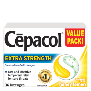 Cepacol Extra Strength - Sucrose Freey Honey Lemon