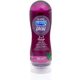 Durex Play 2in1 Massage- & Gleitgel Aloe Vera 200ml