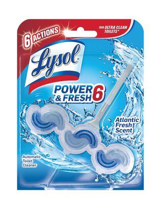 Lysol Power & Fresh 6 Automatic Toilet Bowl Cleaner - Atlantic Fresh