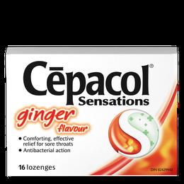 Cepacol Sensations - Ginger Flavour