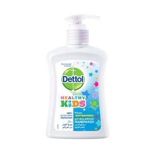 Dettol Healthy Kids Liquid Hand Wash Soap Prince 200ml