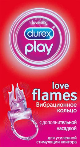 Durex Play Flames кольцо с насадкой декларация