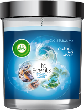 Air Wick® Velas  - Life Scents™ Oasis Turquesa