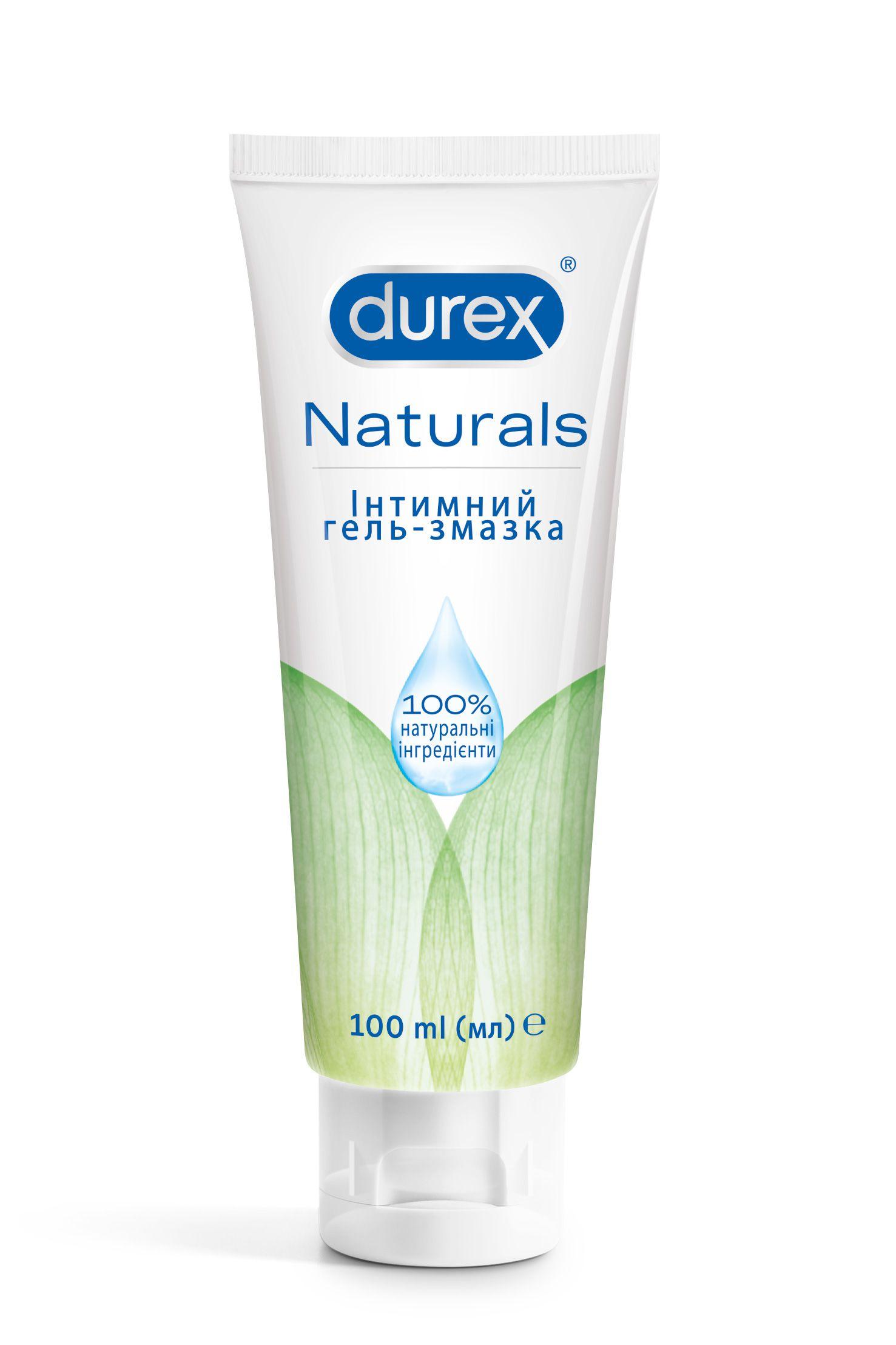 Intymna hel zmazka Durex Naturals, 100ml