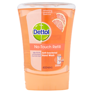 Dettol No-touch Antibacterial Hand Wash - Refill - Pink Grapefruit