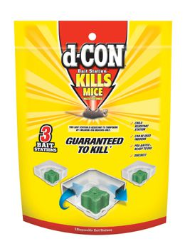 d-CON® Disposable Corner Fit Bait Stations