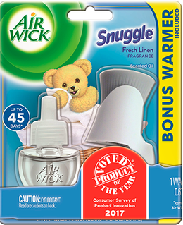 Snuggle® Fresh Linen Scented Oil Starter Kit