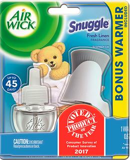 Snuggle® Fresh Linen Scented Oil Starter Kit