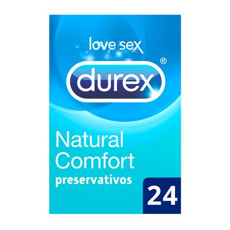Durex Preservativos Natural Comfort 24 unidades