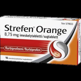 Strefen Orange 8,75 mg imeskelytabletit 16 kpl| Strefen Suomi