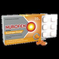 Nurofen Junior Kaudragee Orange 100 mg Weichkapsel zum Zerbeißen