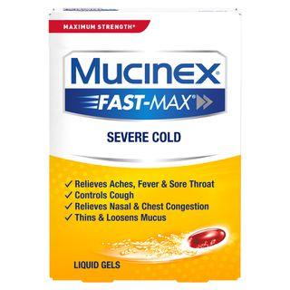 Maximum Strength Mucinex® Fast-Max® Severe Cold