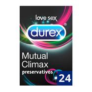 Durex Preservativos Climax Mutuo 24 unidades
