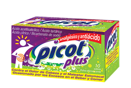 Picot® Plus 10 sobres