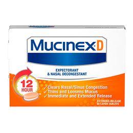 Mucinex® D Expectorant and Nasal Decongestant caplets