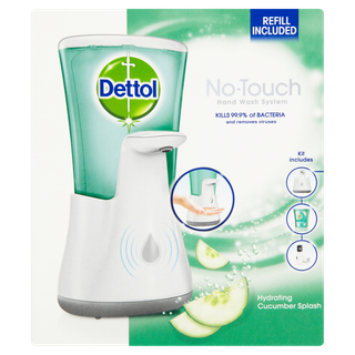 Dettol No-touch Antibacterial Hand Wash - Handwash System - Cucumber