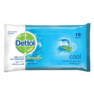 Dettol Skin Wipes Cool 10s