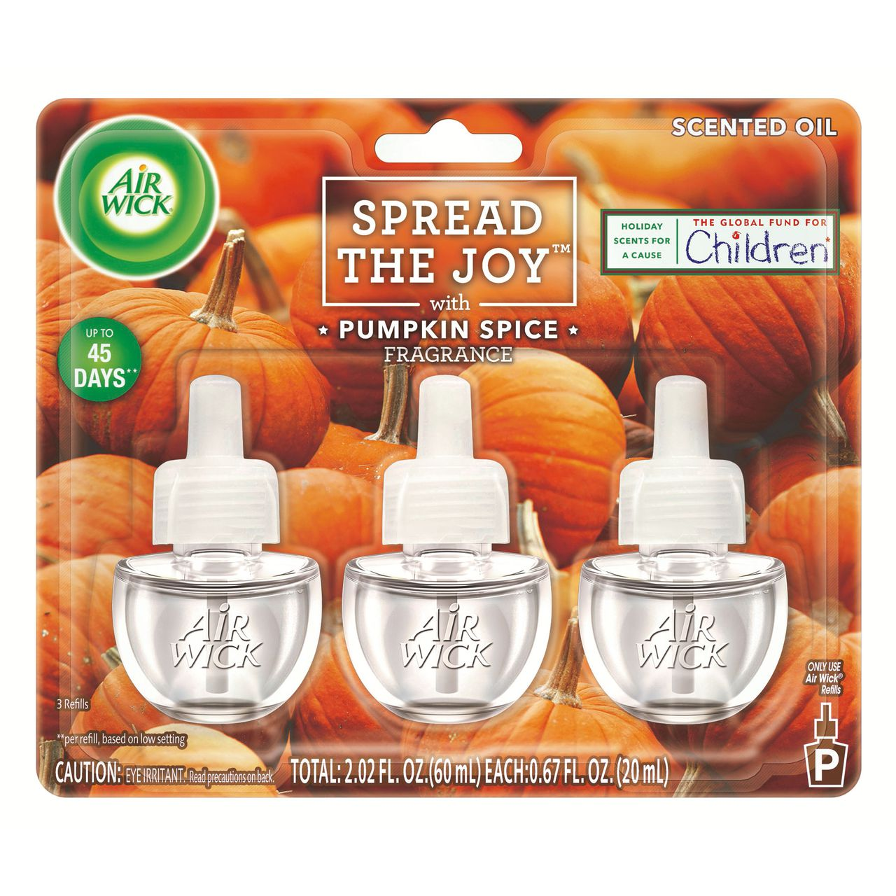 Spread The Joy Pumpkin Spice Scented Oil Triple
