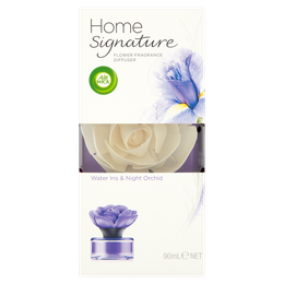 Air Wick Home Signature Flower Diffuser Water Iris & Night Orchid