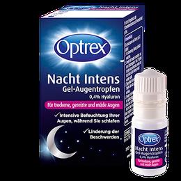 Optrex Nacht Intens Für trockene, gereizte und müde Augen