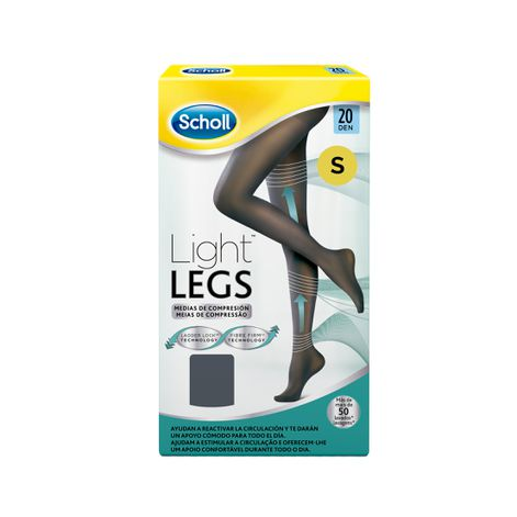 Medias de compresión ligera Scholl Light Legs 20 DEN color negro S