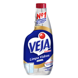 VEJA VIDREX CRISTAL REFIL 500ML