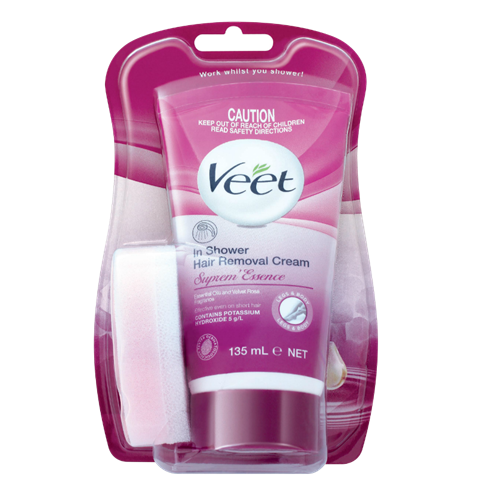 Veet In Shower Hair Removal Cream For Sensitive Skin