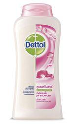 เดทตอล เจลอาบน้ำแอนตี้แบคทีเรีย สูตร สกินแคร์ 200ml bottle