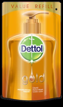 Sabun Cuci Tangan Anti Bakteri Dettol Gold Classic Clean