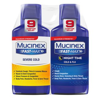 Mucinex® Fast-Max® Day Severe Cold & Night Cold & Flu Liquid